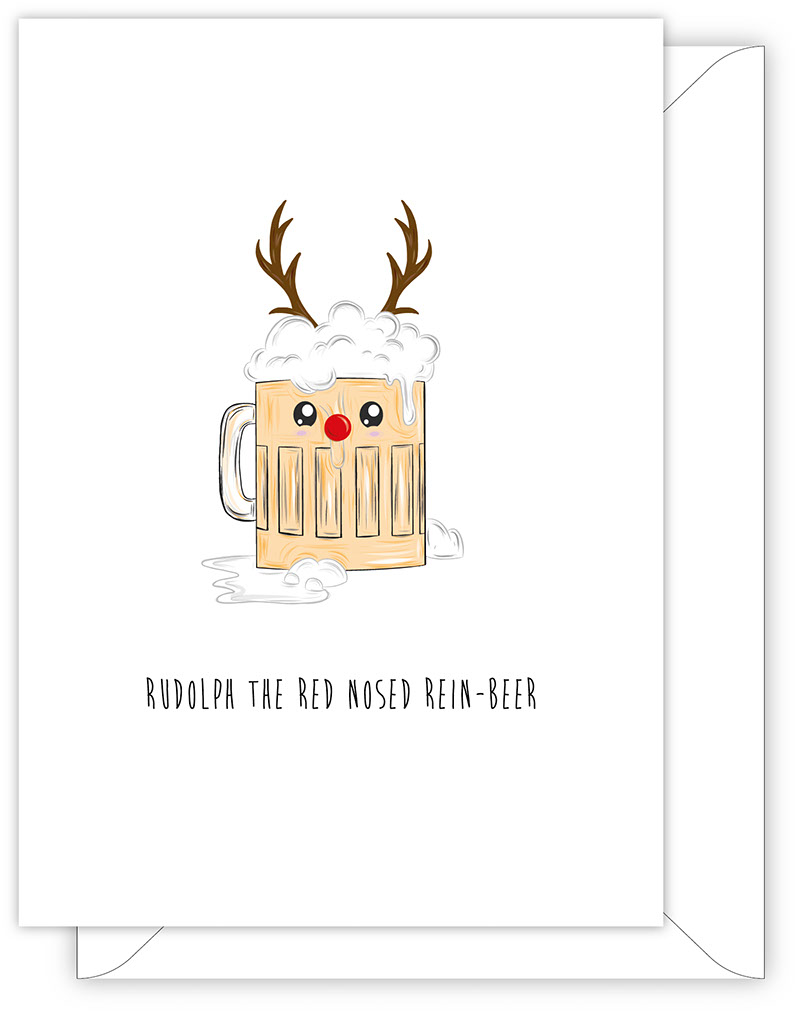 Rudolph The Red Nosed Rein-Beer