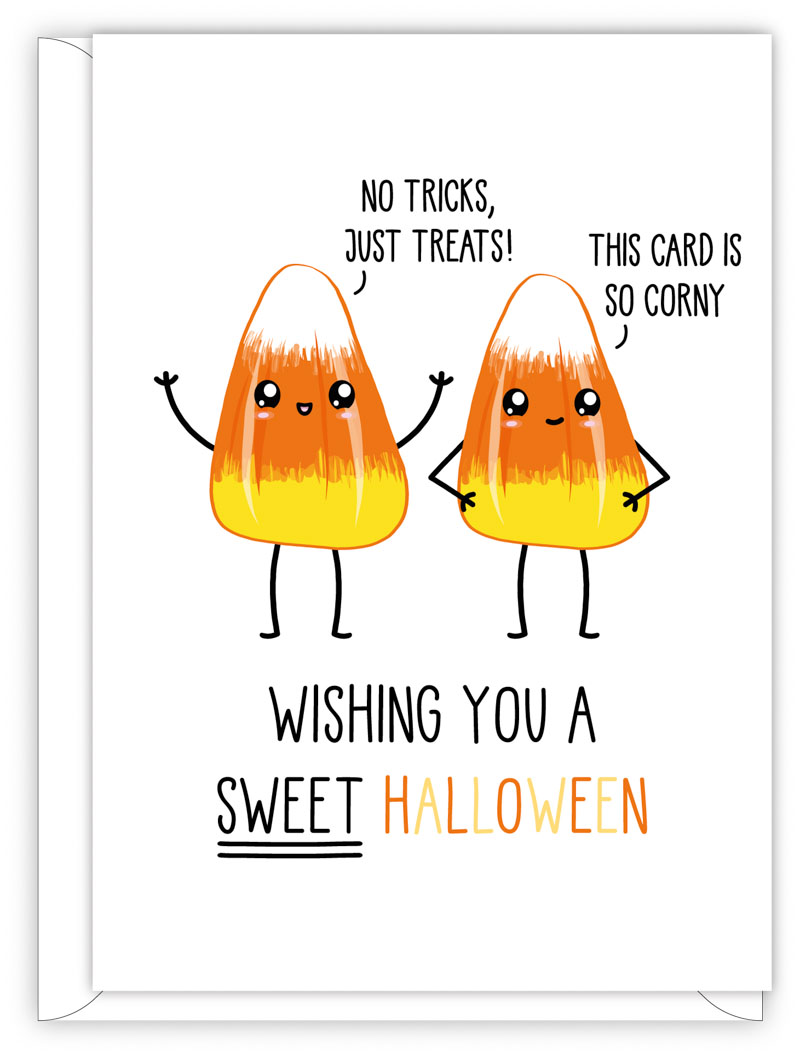 HALLOWEEN CARD - HAVE A SWEET HALOWEEN