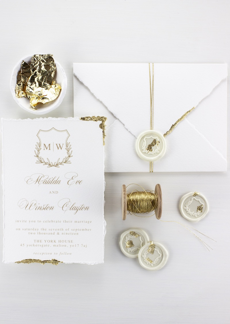 The Laurel Suite Wedding Stationery Package